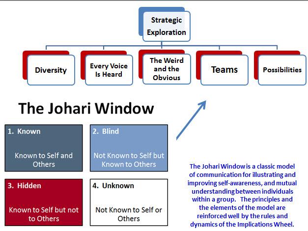 Johari Connections